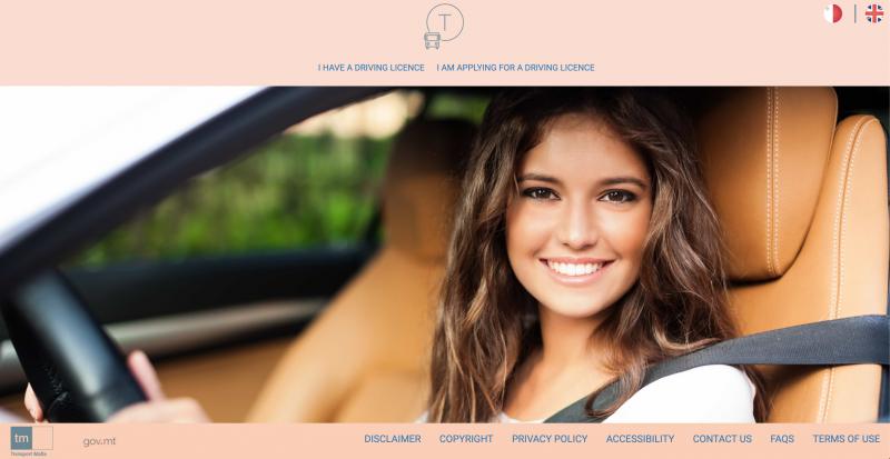 DrivingLicence Website