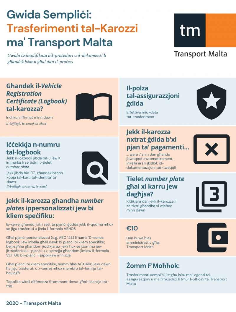 Vehicle Transfer Infographic MLT