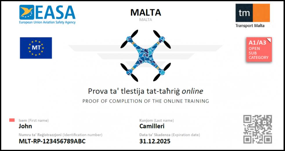 Remote Pilot Licenses
