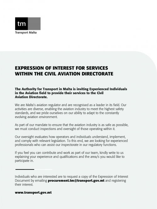 Expression of Interest CAD