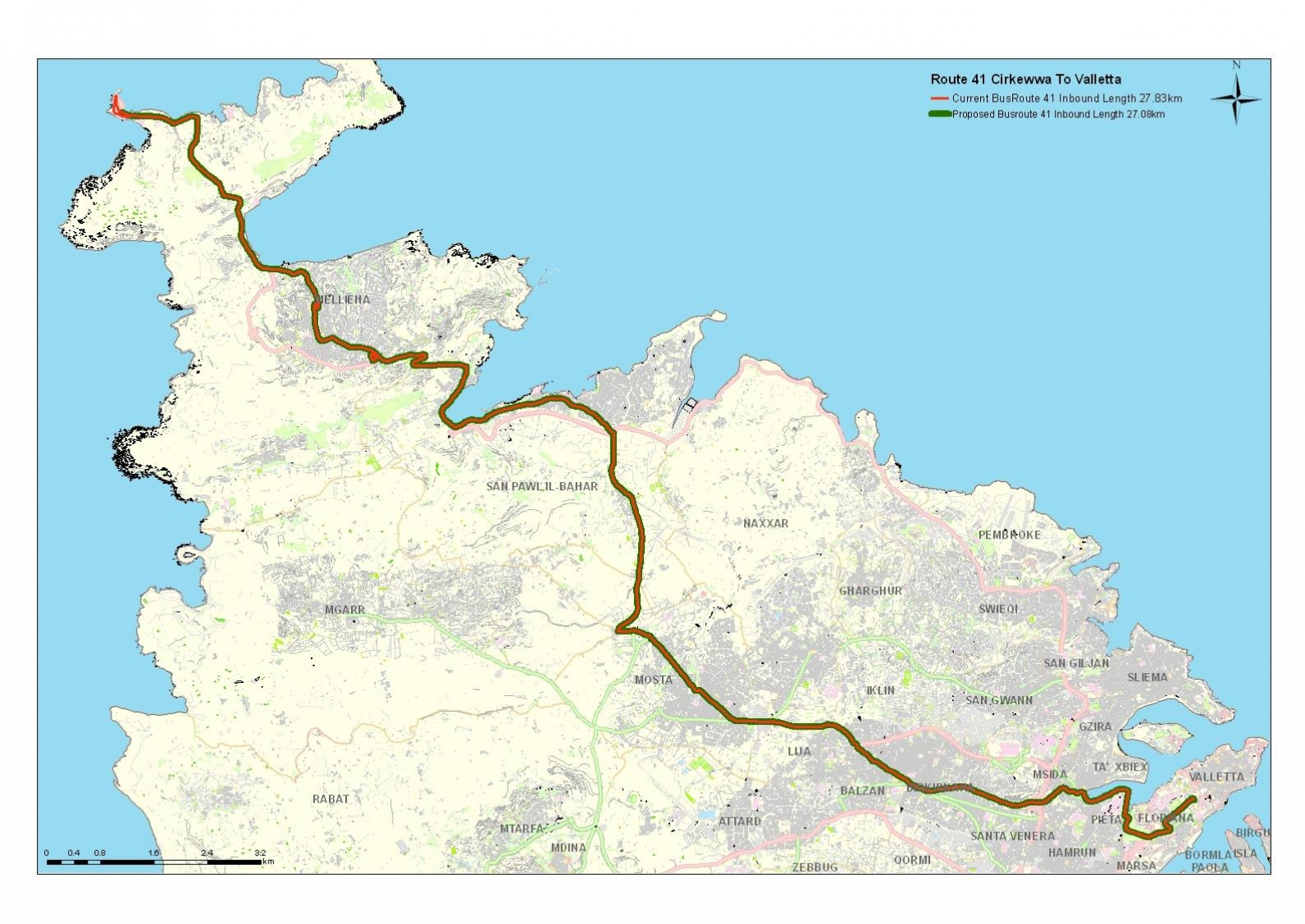 Land-current-network-routes-and-schedules-Cirkewwa-mellieha-sliema