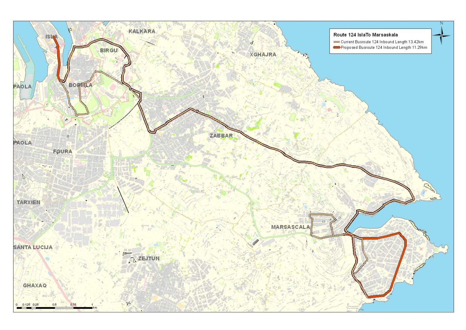 Land-current-network-routes-and-schedules-Cottonera-birgu-bormla-isla-kalkara-9
