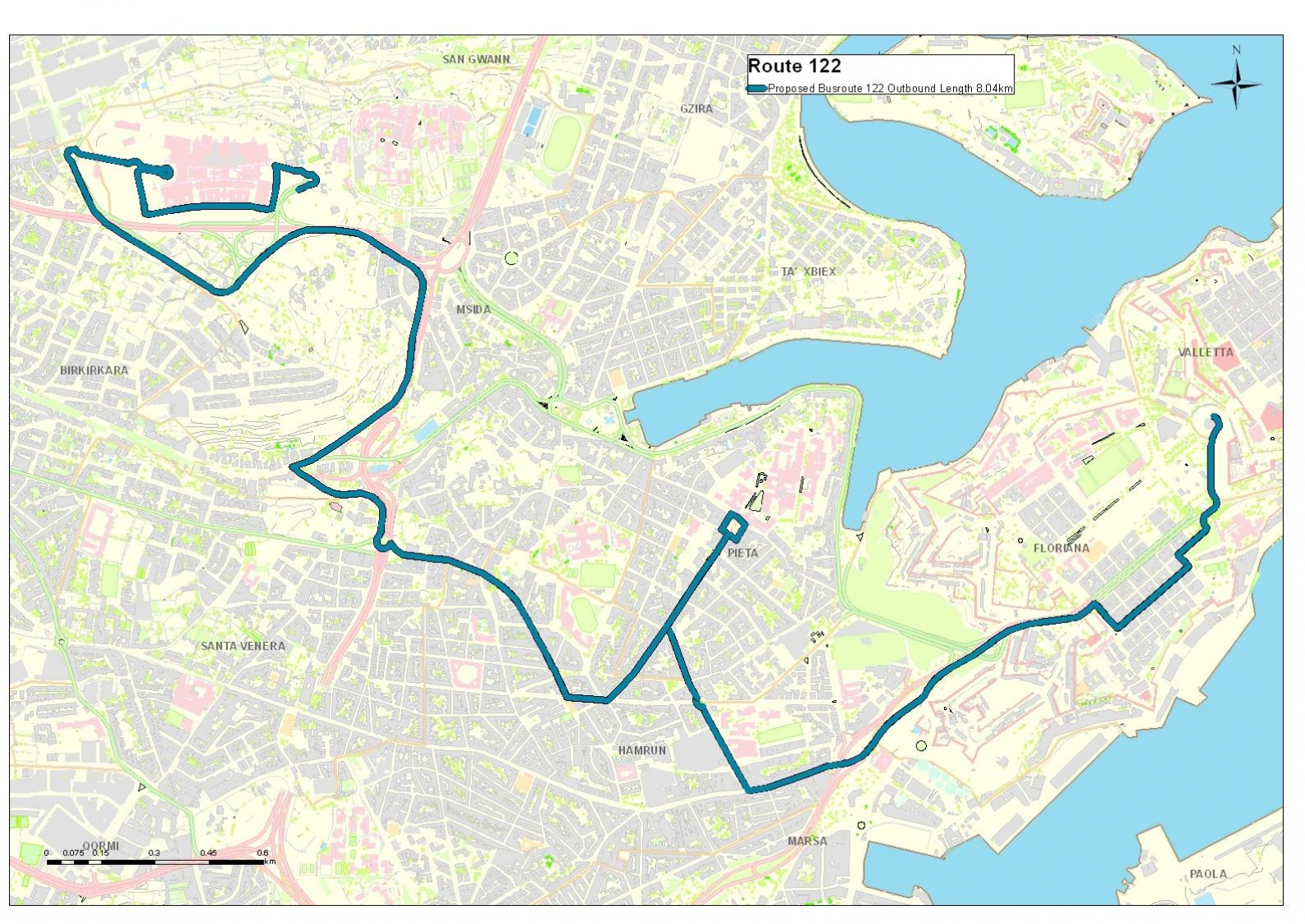 Land-current-network-routes-and-schedules-Valletta-Park-and-Ride-2